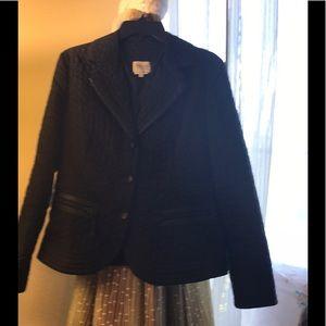 Black Armani jacket
